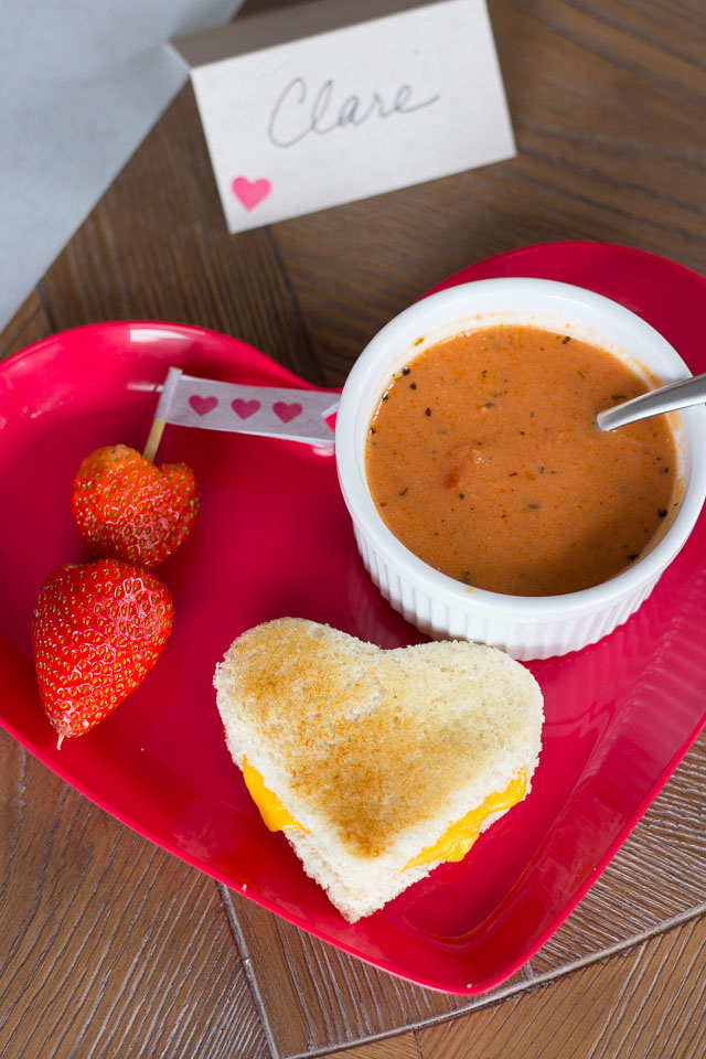 Valentine's Day kids party food!