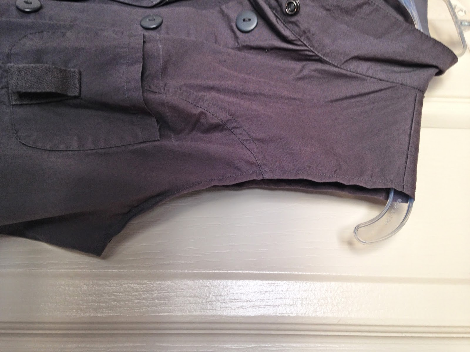 Ulterior Alterations: Refashioned Utility Vest Sleeve Detail