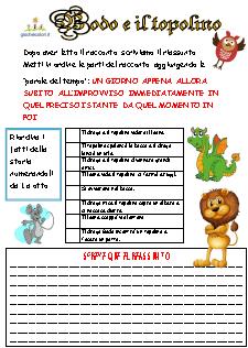 Schede ed attivit didattiche del maestro fabio per la scuola primaria il - Gemelli diversi cosa vuoi testo ...