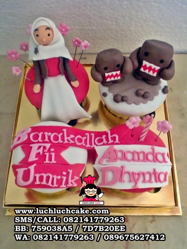 Cupcake Domo Daerah Surabaya - Sidoarjo (Repeat Order)