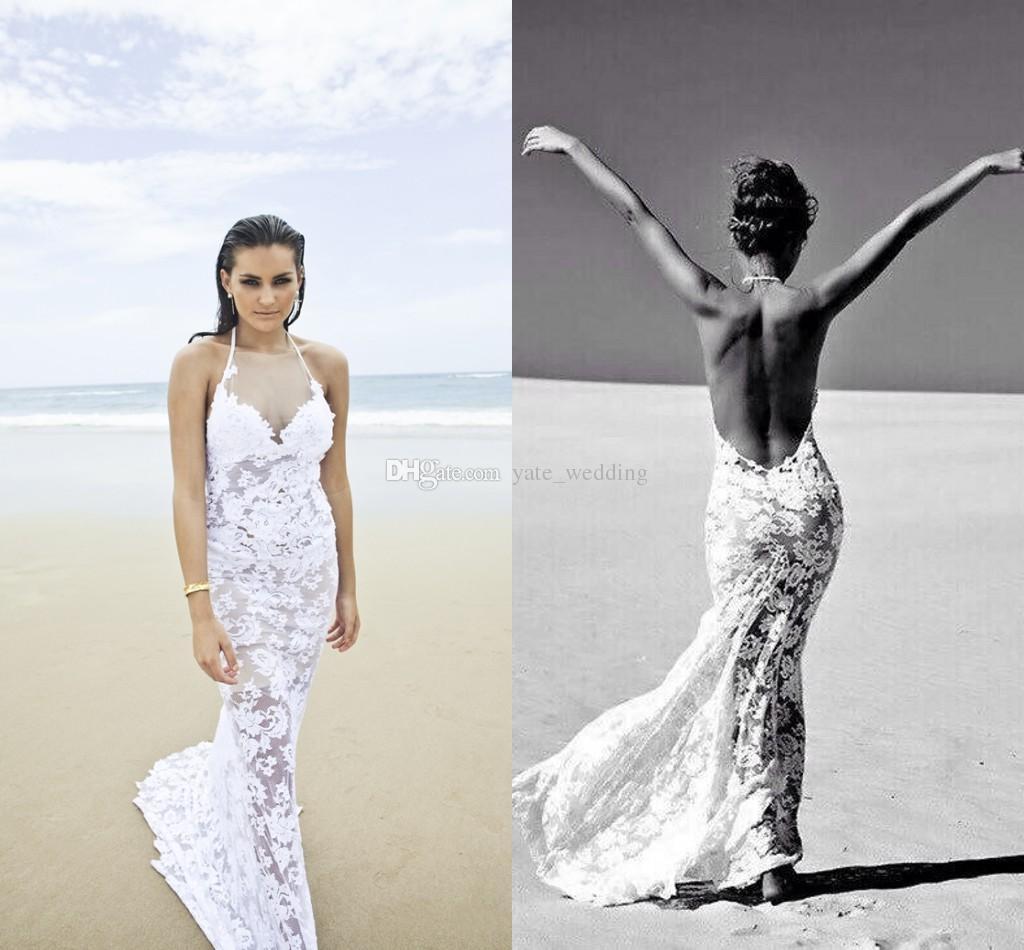 Most Attractive Beach Wedding Gowns 2016
