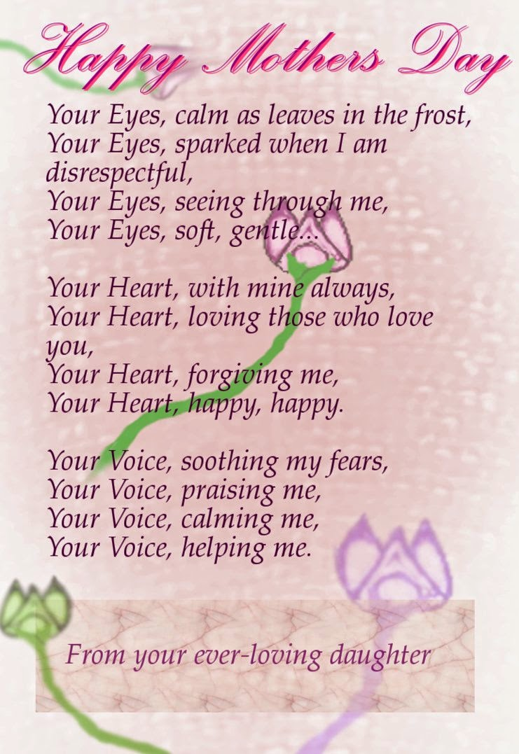 The gallery for i love my mom poems that will make you cry for Mothers day poems that make you cry