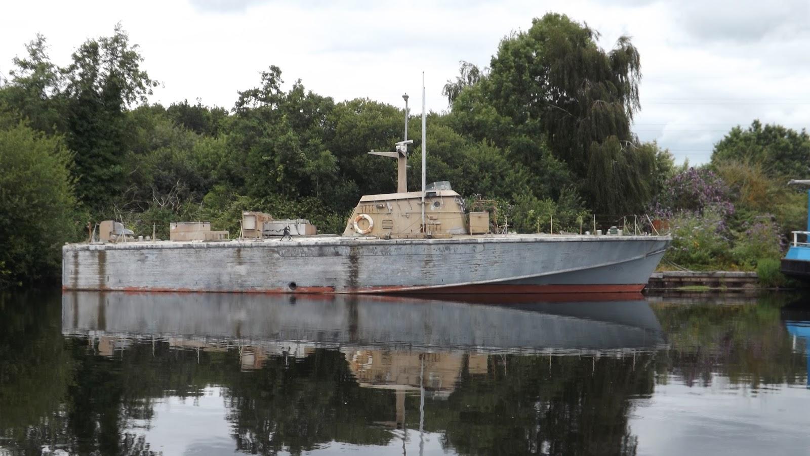 Jj 39 S Wargames Wwii British Motor Torpedo Boat Exeter Canal