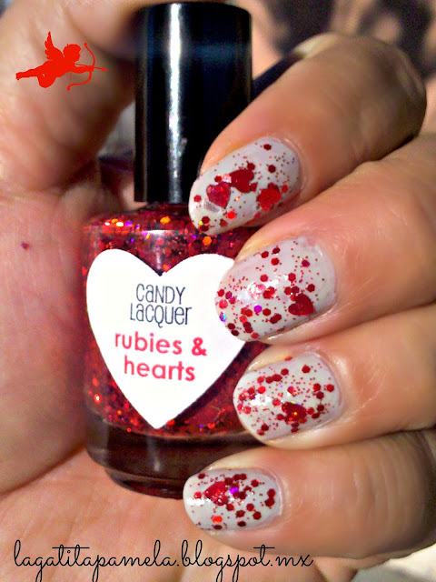 candy lacquer rubies & hearts