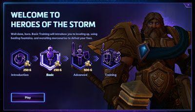 Heroes of the Storm Gold Rewards