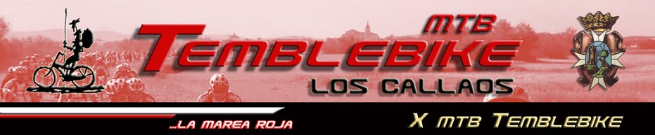 "C.D.E TEMBLEBIKE ""LOS CALLAOS"" - X MTB TEMBLEBIKE"