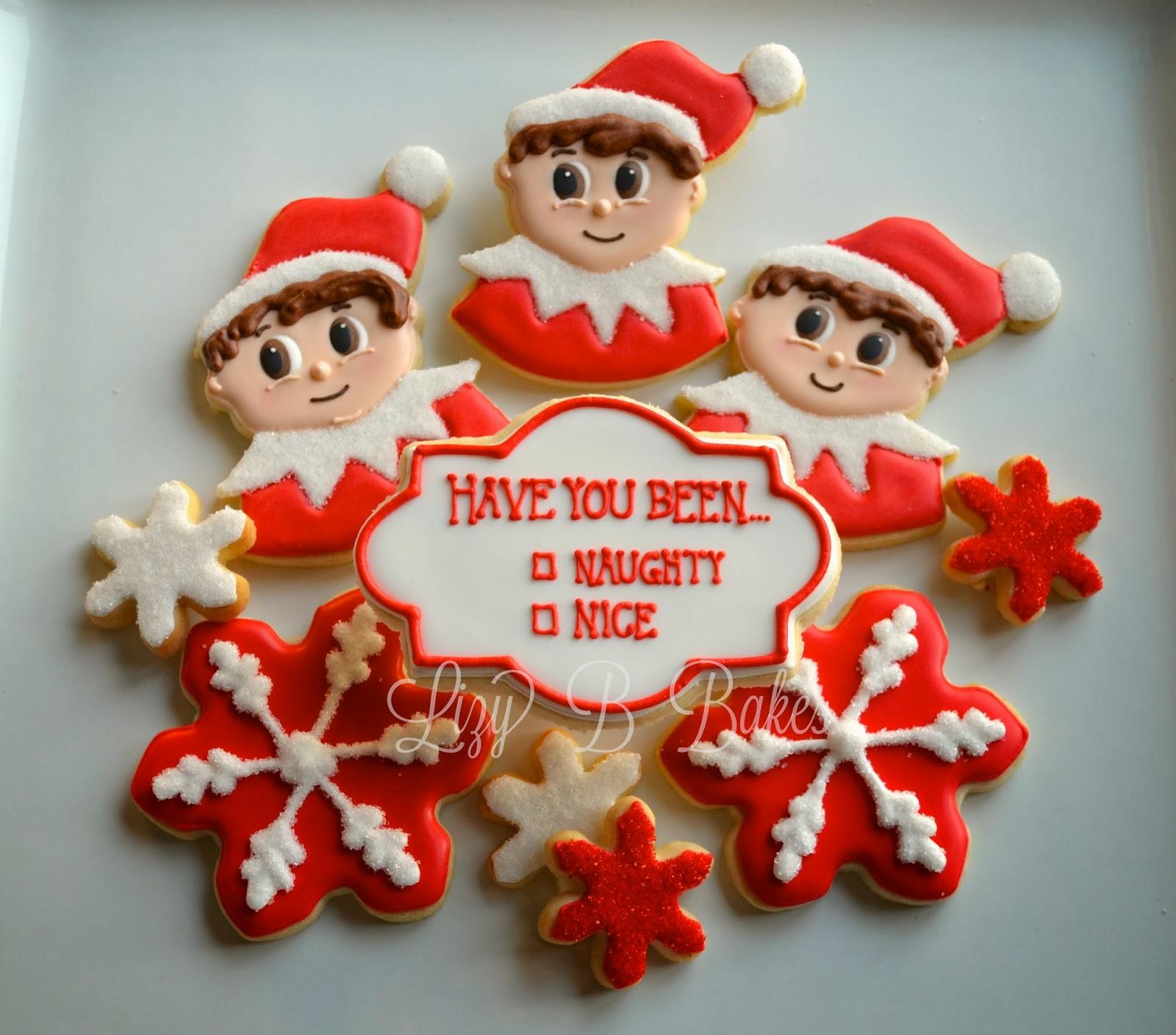 Lizy B Elf On The Shelf Cookies