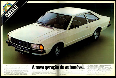 propaganda Ford Corcel II - 1977. reclame de carros anos 70. brazilian advertising cars in the 70. os anos 70. história da década de 70; Brazil in the 70s; propaganda carros anos 70; Oswaldo Hernandez;