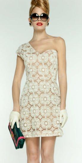 vestidos asimétricos 2012