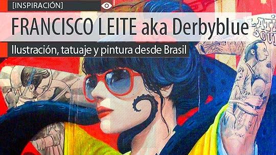 Ilustración y pintura de FRANCISCO LEITE aka Derbyblue