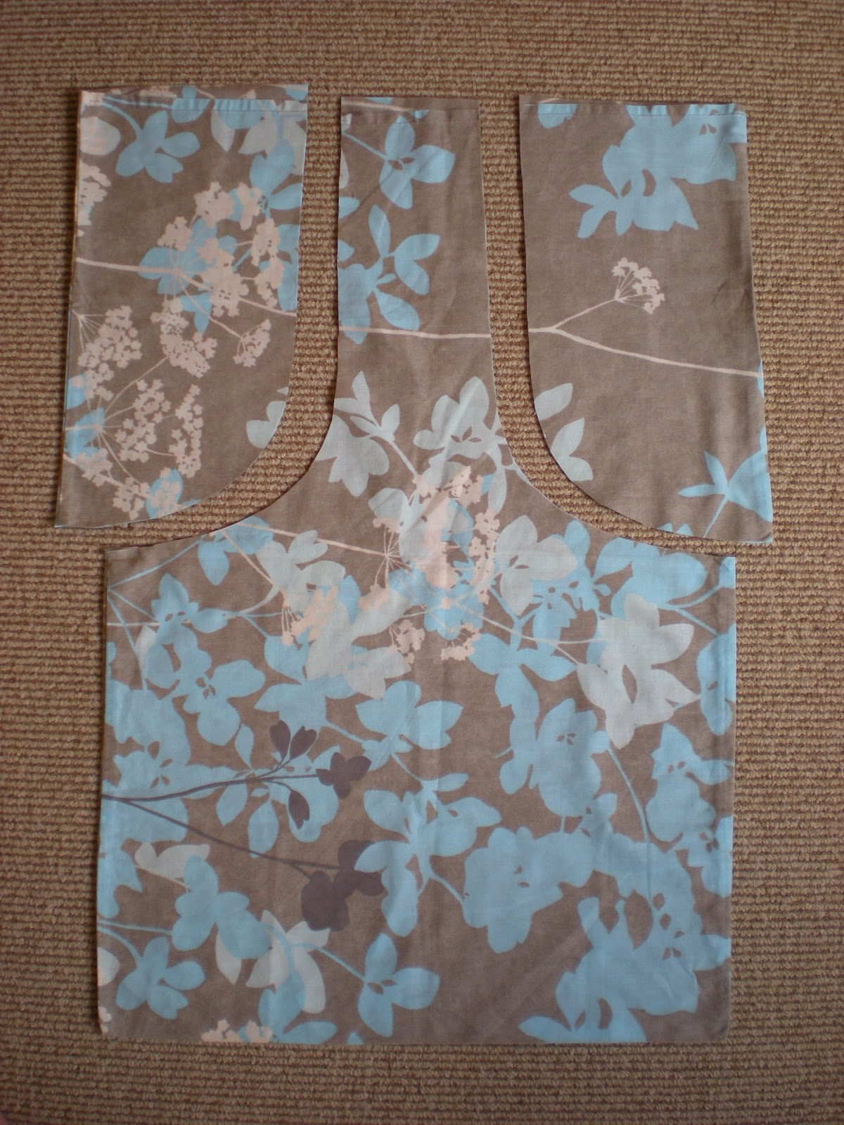 growmama: Tutorial - vintage pillowcase to bag