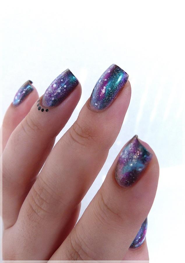 duochromatischer Nagellack - schillernde Nägel