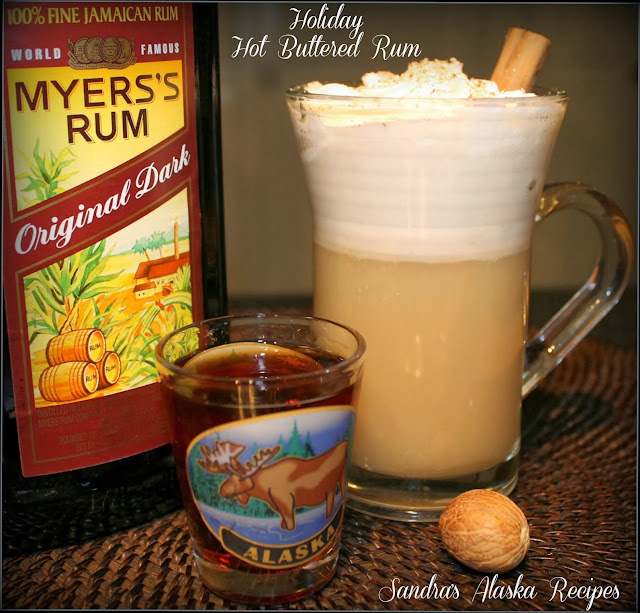 Sandra's Alaska Recipes: SANDRA'S HOLIDAY HOT BUTTERED RUM MIX