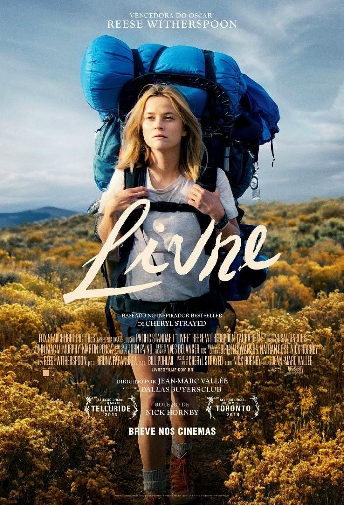 cartaz do filme Livre - Wild, 2014