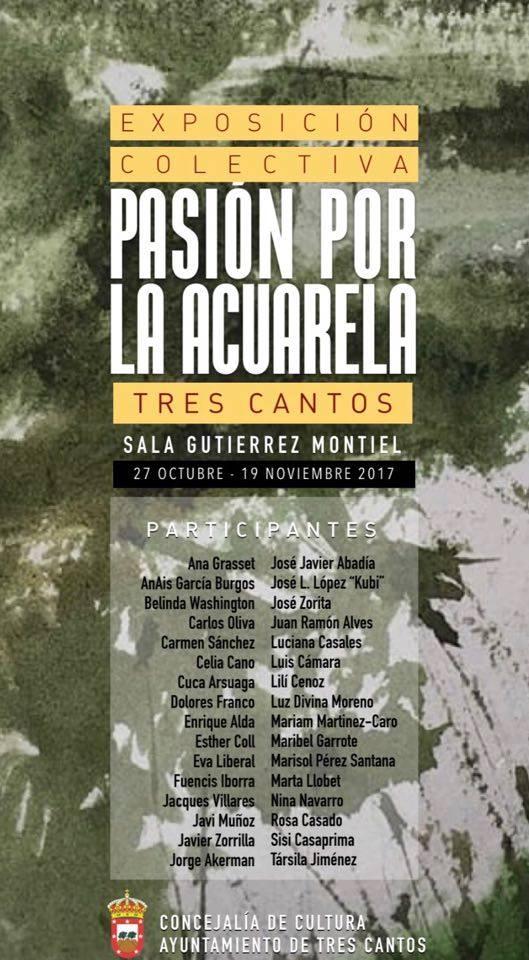 Exposición conjunta de artistas en Madrid.