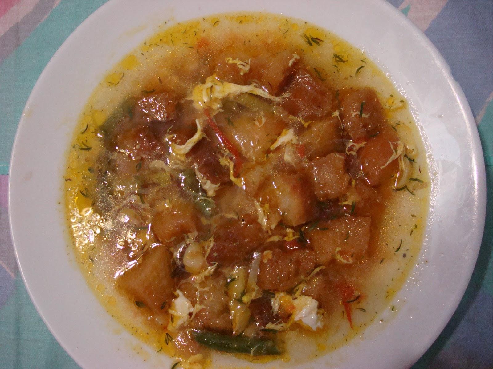 Sopa de ajos con tomillo y esp rragos barquillos de - Calorias boquerones en vinagre ...