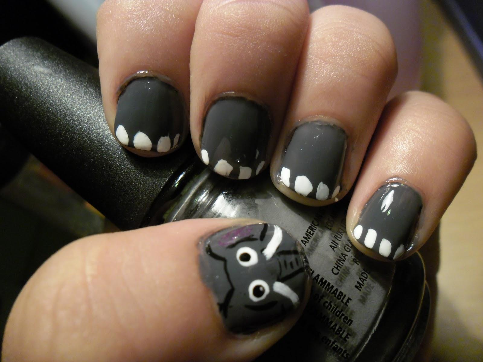 NAIZYS NAIL ADDICTION: Elephant Nails!!