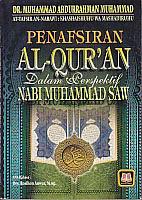 toko buku rahma: buku penafsiran al-quran dalam perspektif nabi muhammad saw, pengarang dr. muhammad abdurrahman muhammad, penerbit pustaka setia