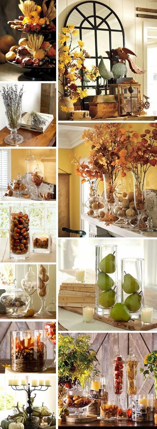 decoração perfeita outono