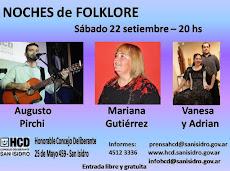 Augusto Pirchi, Mariana Gutierrez y Vanesa -Adrian Danzas