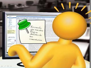 Recuerda que nuestro blog se alimenta de tus comentarios.
