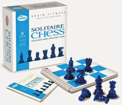 Solitaire Chess by ThinkFun Brain Fitness