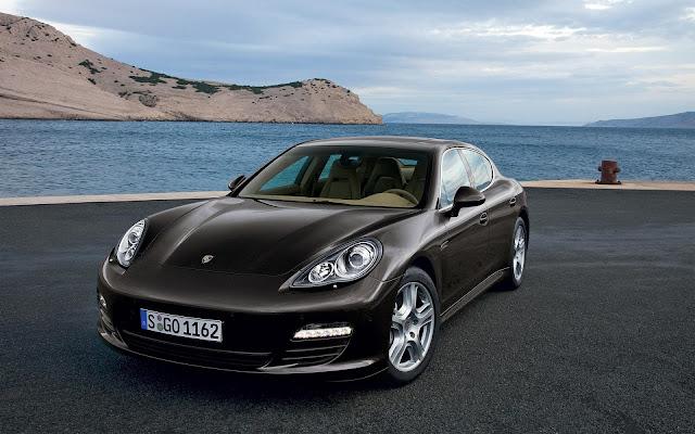 Black Panamera Car