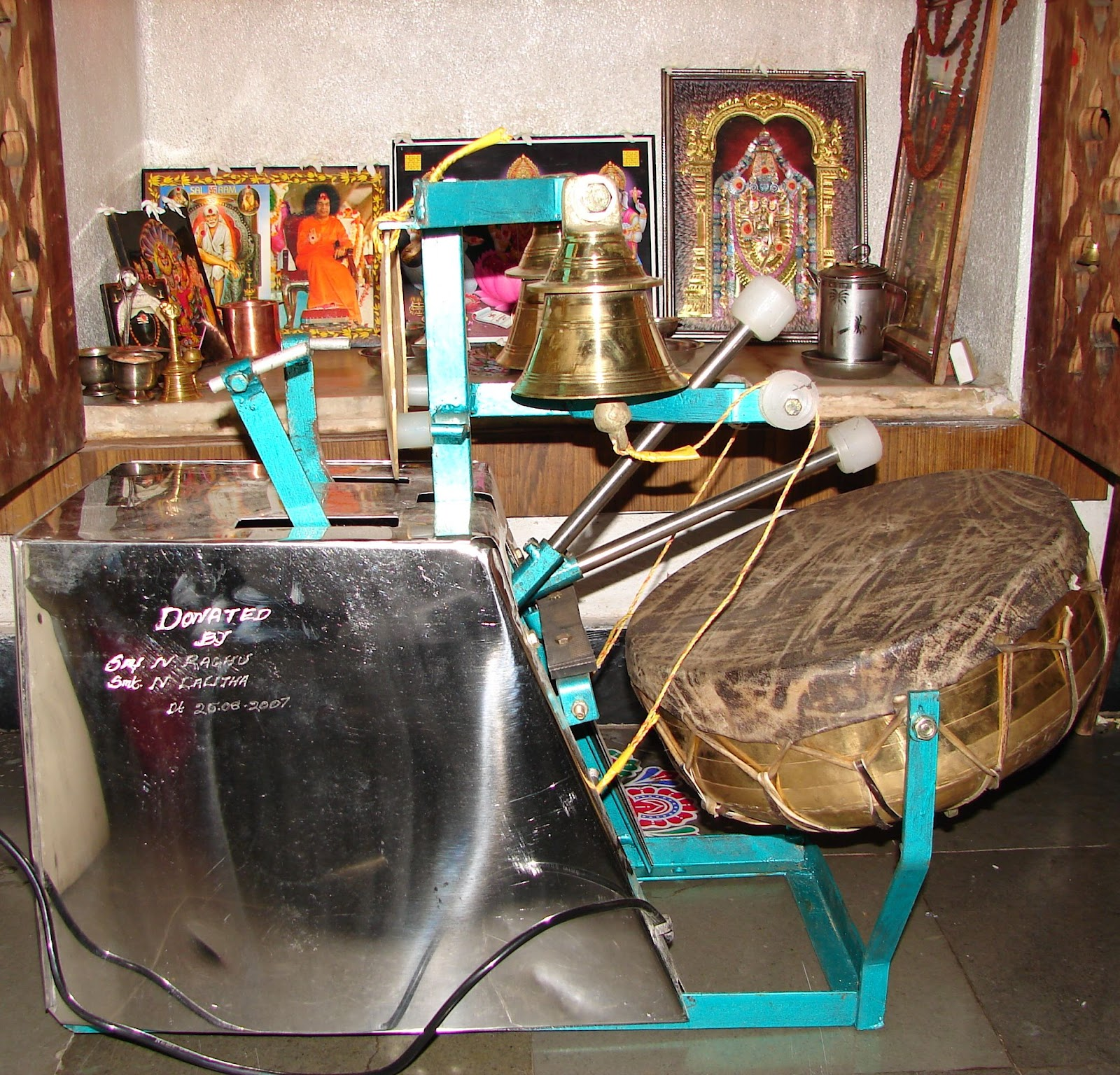 Mangala Harathi Silvers: Raghu's Column!: With Respect To Mangala Harathi