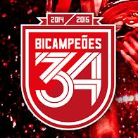 Bicampeões 2014-2015