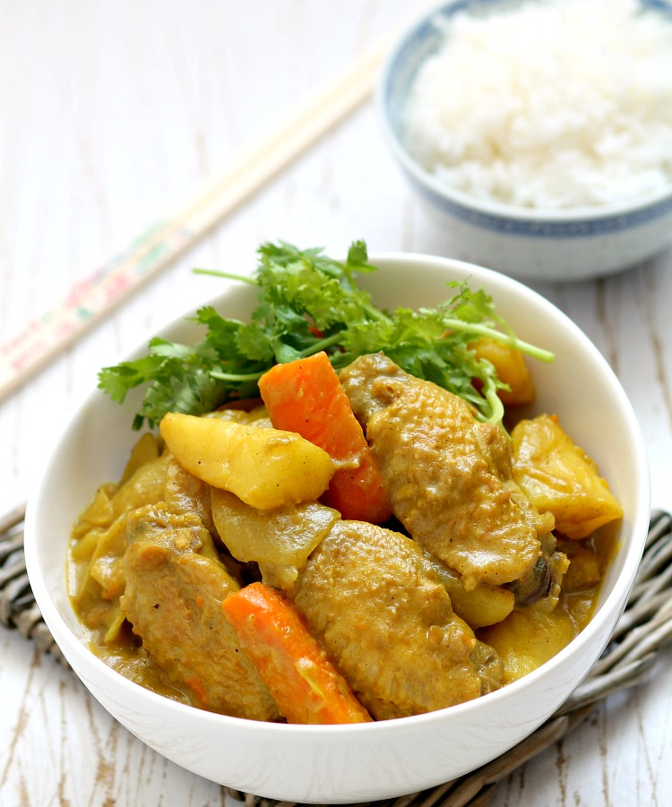 Chinese Style Chicken Curry Hongkong-style Chicken Curry