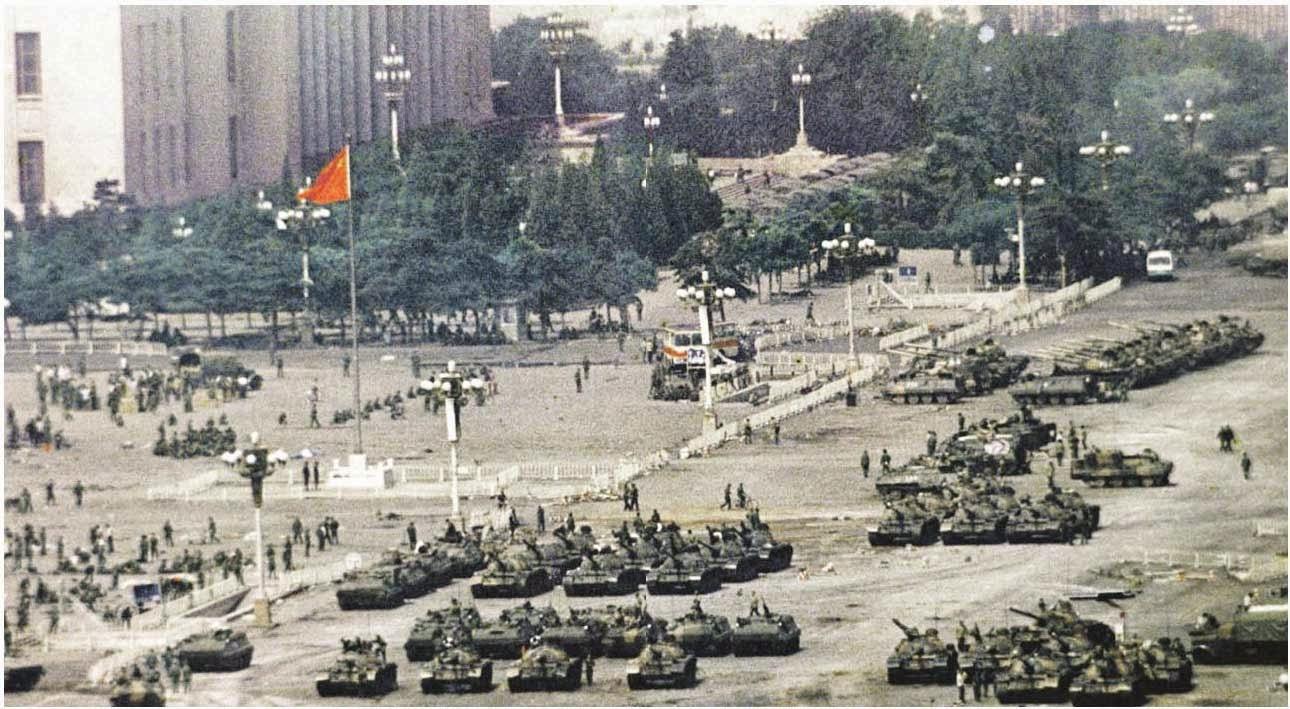 Final de la protesta Plaza de Tiananmén, 1989