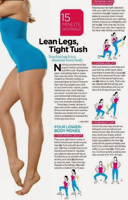 Lean legs tight tush
