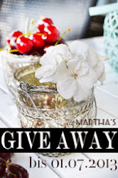 Give-Away bei Marthas!