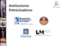 INSTITUCIONES PATROCINADORAS