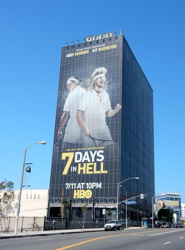 7 Days in Hell HBO film billboard