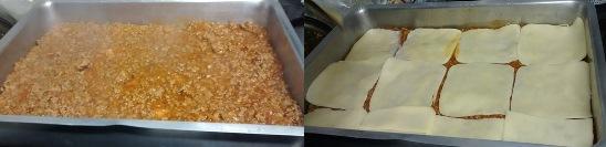 Lasanha com berinjela