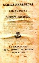 Ahora en el Club de lectura: Cartas marruecas, de José Cadalso