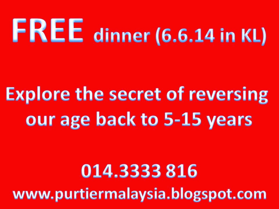 Health Longevity Dinner at Kuchai Lama