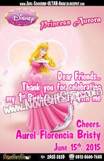 Aurora Thank Card Aurel Sample Tema Design Thanks Card (Kartu Ucapan Terima Kasih)