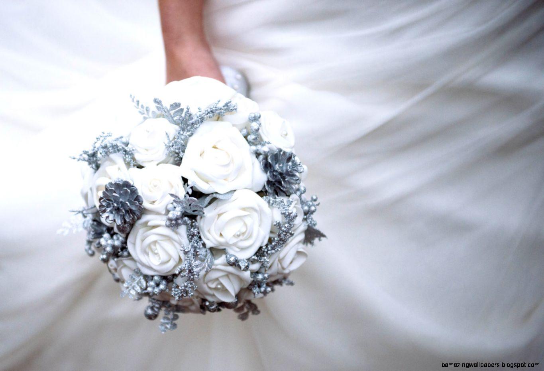 Winter wedding bouquet winter wonderland by TheBridalFlower