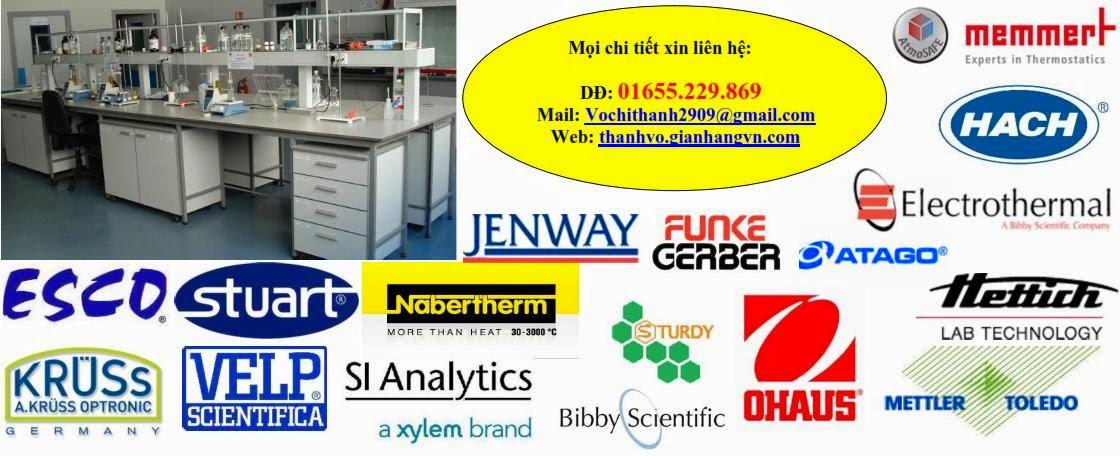 Thiết bị - dụng cụ - hóa chất phòng thí nghiệm giá rẻ