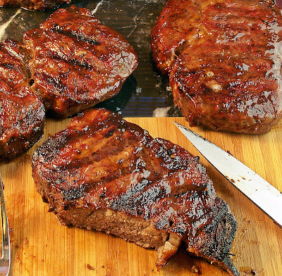 Rib Steaks   Cravings of a Lunatic   #steak #grill #bbq #beef