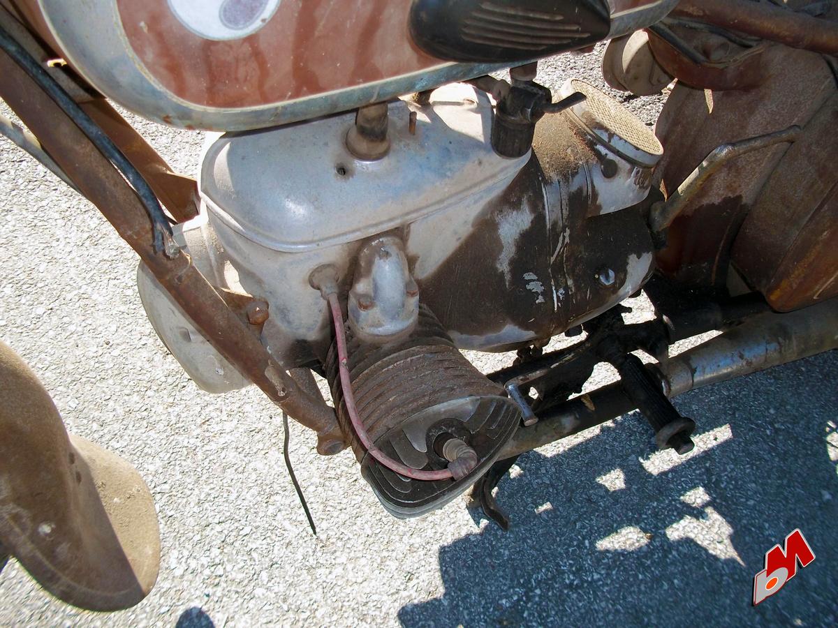 1957 mz bk350 motor detail | tools1