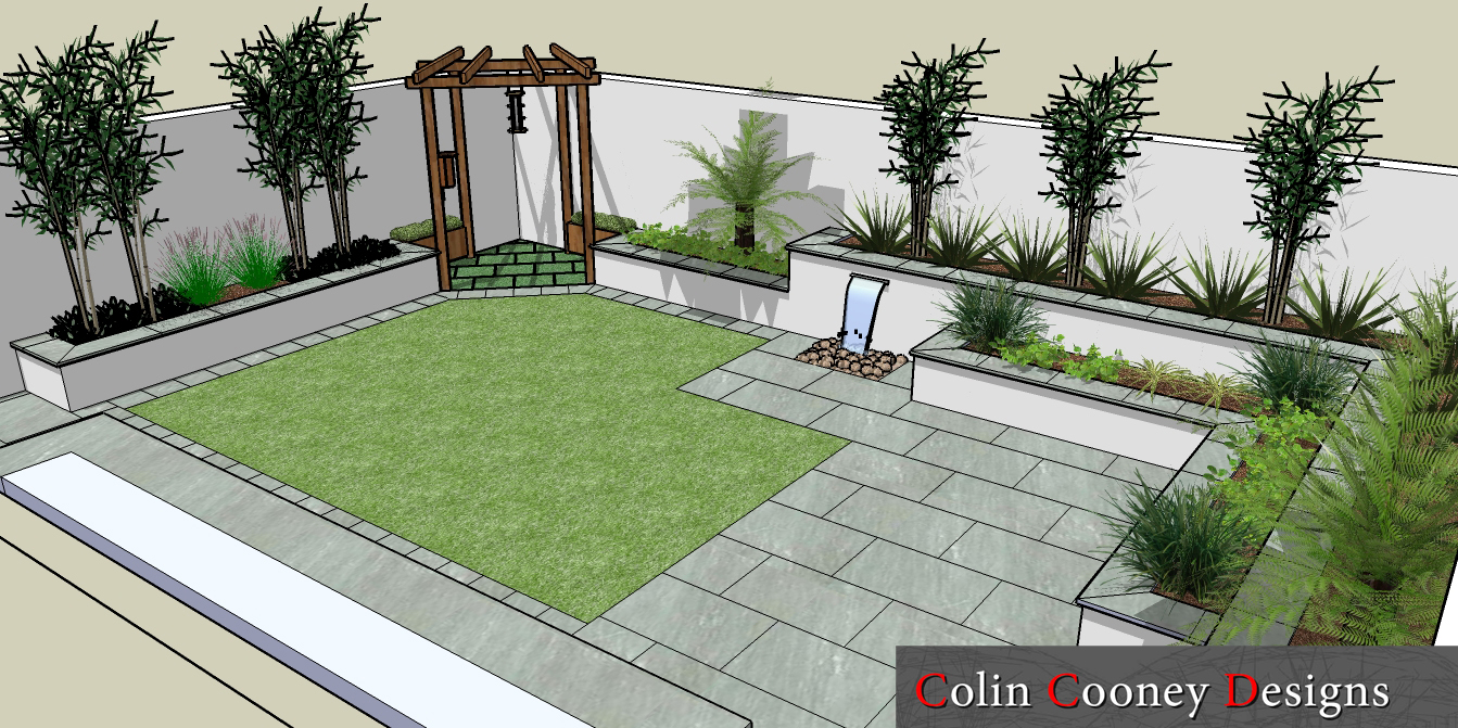 rathfarnham low maintenance garden design