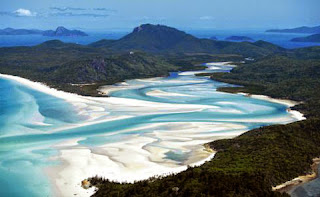 Whitehaven una playa imperdible en Australia