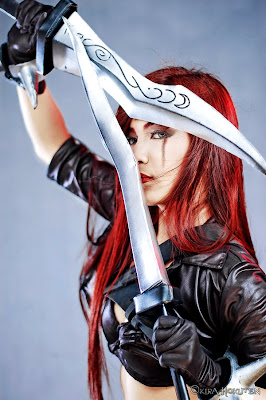 Red Haired Cosplay - Katarina
