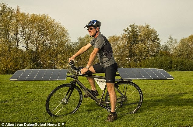 solar bike,solar cycle,solar power,renewable engine,sun energy