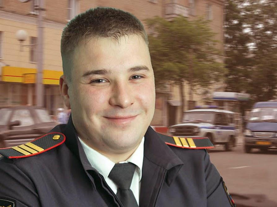 Сержант полиции Иван Матвеев вынес из горящего дома около десяти человек.