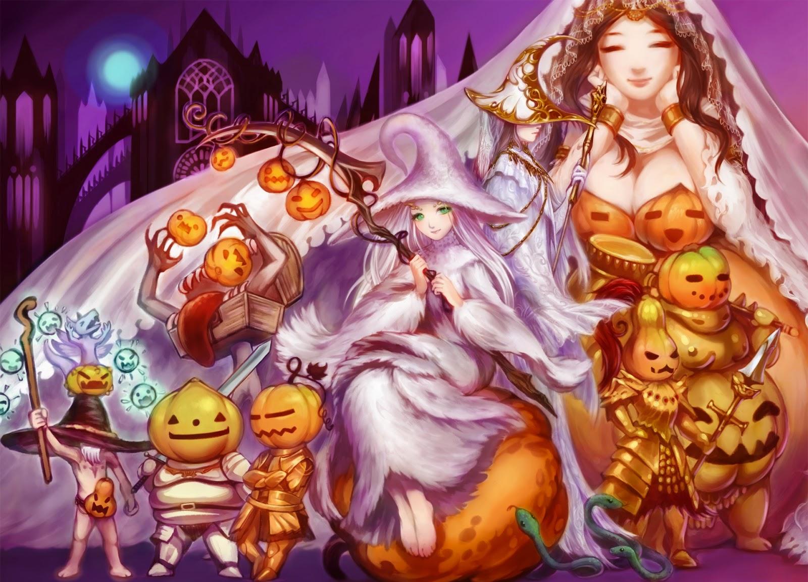 dark souls anime,anime wallpaper,anime halloween