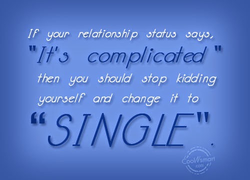 complicated relationship status for whatsapp funny